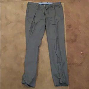 Bonobos Charcoal Gray Slim Straight Chinos